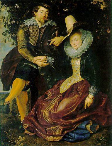 ルーベンス「画家とその妻、イザ...